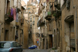 Caltagirone,typical street