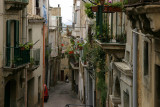 Caltagirone;difficult to find back to the car