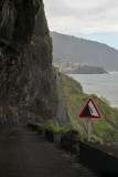 Attention,falling stones! ,Madeira