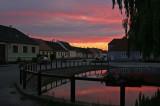 Oberorts-Teich bei  Nacht
