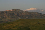 Monte Etna seen from Enna,Sicily