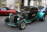 1932 Ford Coupe, heavily modified.