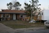 House and FEMA Trailer