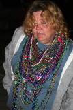 Mardi Gras End of the Party Woman