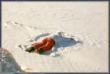 ....winter swim in Lake Michigan