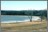 ...frozen pond