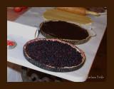 Tarte au chocolat et tarte au mûres
