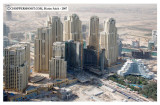 Dubai Aerial Images - the JBR with Oasis beach hotel on the right
