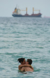 An Intimate Moment in the Atlantic