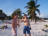 Melvin and Peter in Tulum