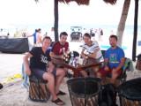 friends at Tulum