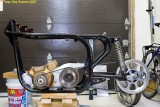 5707-Norton_cafe_racer, realising a new swing arm is needed