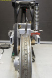 9238-swing arm with rear wheel