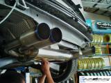 ARQRAY Titanium QUAD exhaust for VW Golf