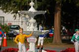 Jockey Fountain.