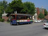 Saratoga Trolley.