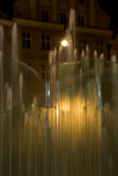 the fountain on Rynek