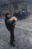 Distribution of bread