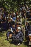Gathering at the graveyard