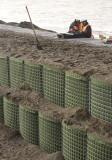 A barrier against the Chukchi Sea