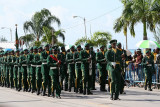 Barbados Defence Force on Parade