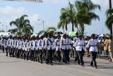 Barbados Cadets on Parade