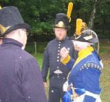 Ordres till artilleriet i regnet