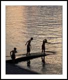 Twilight on Lake Como