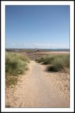 Coastal cycle path