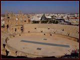 Towering above El-Jem