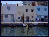 Houses at old port, Bizerte