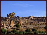Dougga is an ancient Roman city