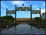 Gate to Hue's Imperial Palace