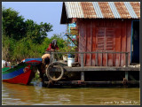 Daily life on house boat
