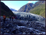 Hiking up to Fox Glacier