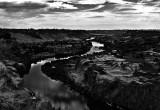 Twin Falls Idaho BW - Harsh