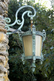 Vero Beach,lantern at exit Driftwood Inn