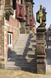 Bolsward, stairs townhall