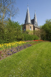 Cellebroederspoort with flowers