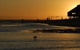 Sunset Malibu Lagoon