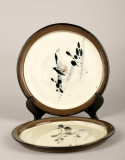 Plates, 9.5 inches in diameter