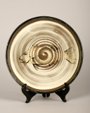 Plate, 11.5 inches in diameter