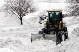 Snow plow in Colorado