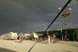 Rainbow (and dusty lens!)