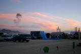 Sunset Smoke Ring