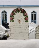 Church #3, Grave marker