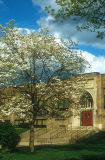 North Wales Elementary School, PA, in Spring.