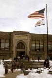 North Wales Elementary School, PA, in Winter.