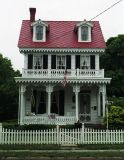 Typical gingerbread architecture, Cape May, NJ
