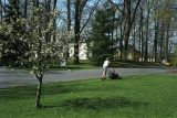 Spring mowing at Sequoia Trail, Allentown, PA